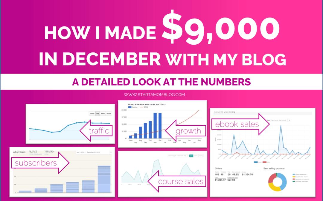 Income Report December 2016