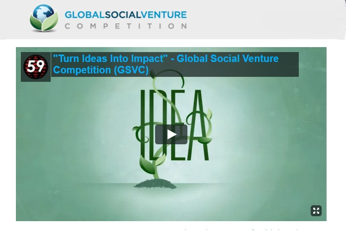 Global Social Venture Competition Social Entrepreneurship Fellowship StartupDotPk