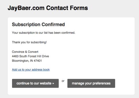 Jay Baer email marketing