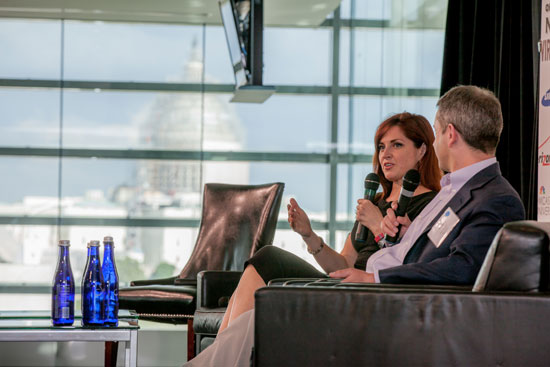 Nuala O'Connor at State of the Net Wireless 2015 with Capitol Background