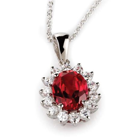 Crimson Scienza Passion Necklace