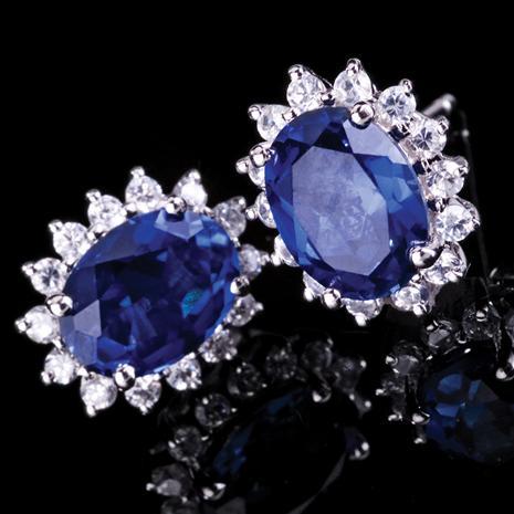 Royal Proposal Scienza Sapphire Earrings