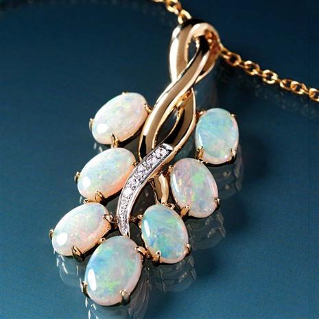 Isobel Australian Opal Necklace