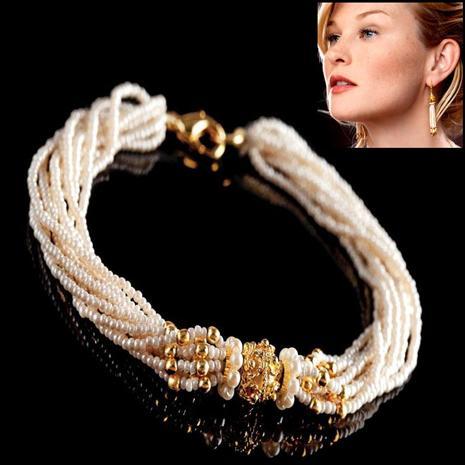 Nizam Bracelet & Earrings Set