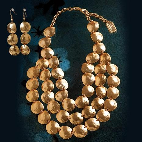 Bezons Necklace & Earrings Set