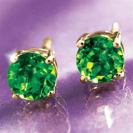 Helenite Stud Earrings