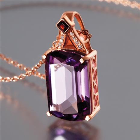 Artesia Amethyst Necklace