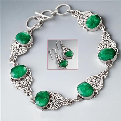 Castillo Bracelet & EarringsSet