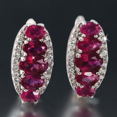 Amoris Ruby Earrings