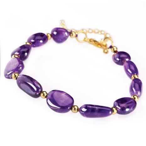 Lusso Amethyst Bracelet