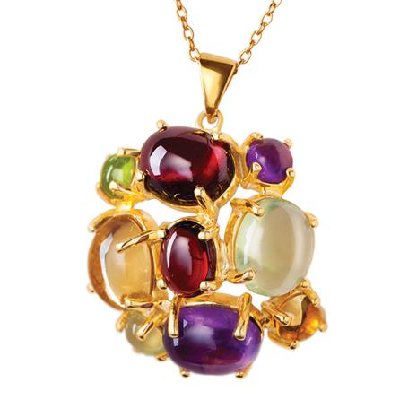 Jubilee Gemstone Necklace