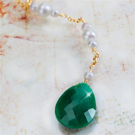 Green Jaguar Emerald Necklace