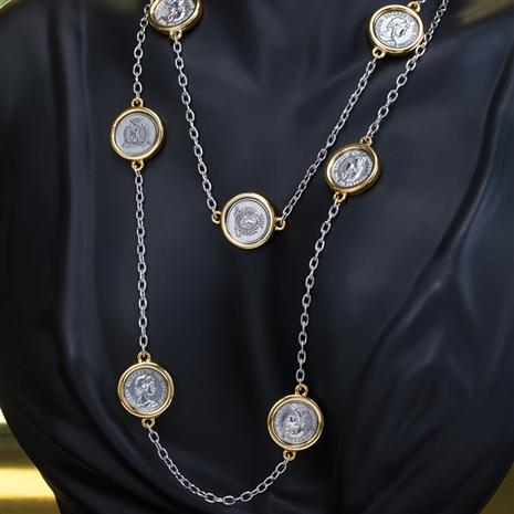 Queen Elizabeth Coin Necklace
