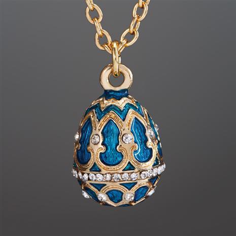 Imperial Egg Royal Blue Necklace