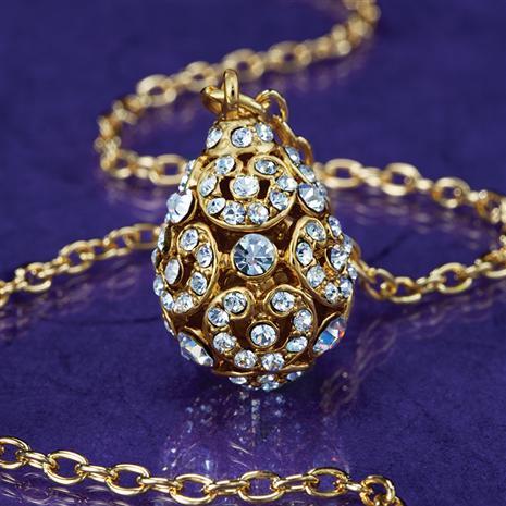 Augusta Egg Necklace