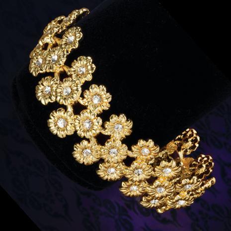 Golden Sunflower Bracelet