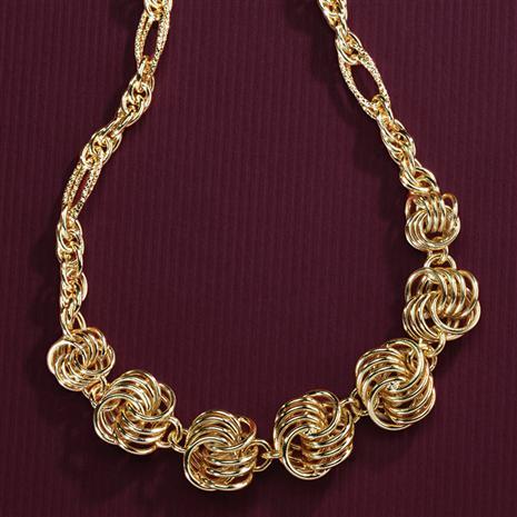 Zeppola Italian Necklace