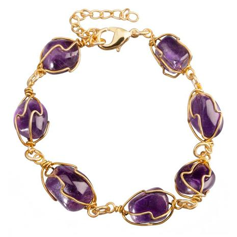 Liberte Amethyst Bracelet