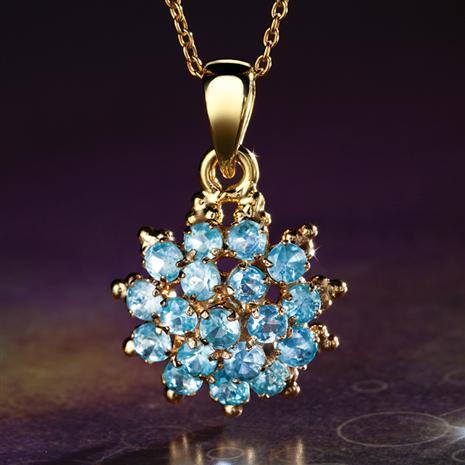 Blue Hyacinth Pendant