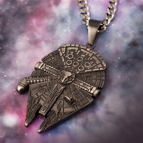 Millennium Falcon Necklace