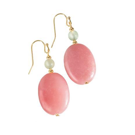 Aragonite Blush Earrings