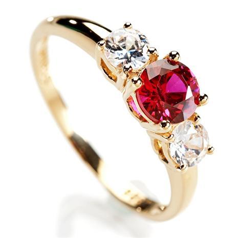 Scienza Ruby Rosar Ring