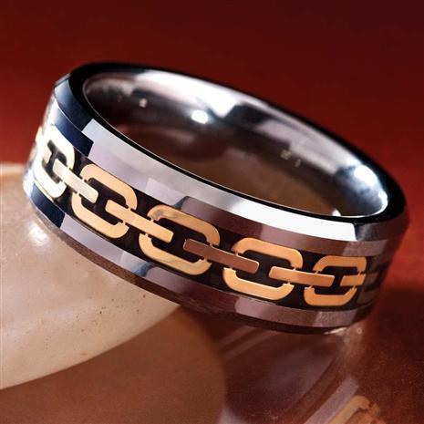 Men's Tungsten Ring