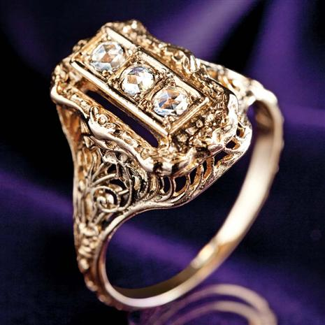House of Bruges Diamond Ring
