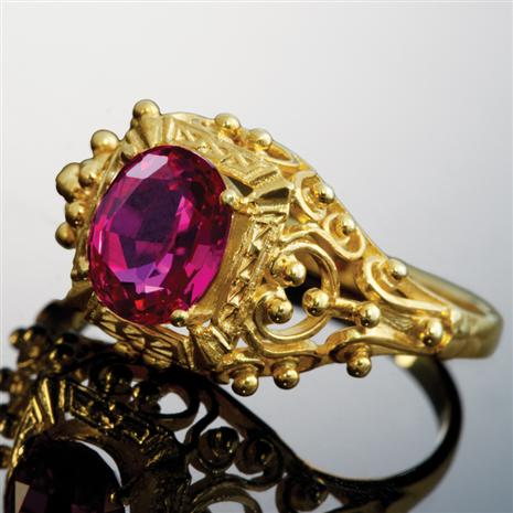 Romantique Scienza Ruby Ring