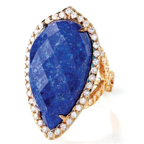 Luxor Lapis Lazuli Ring