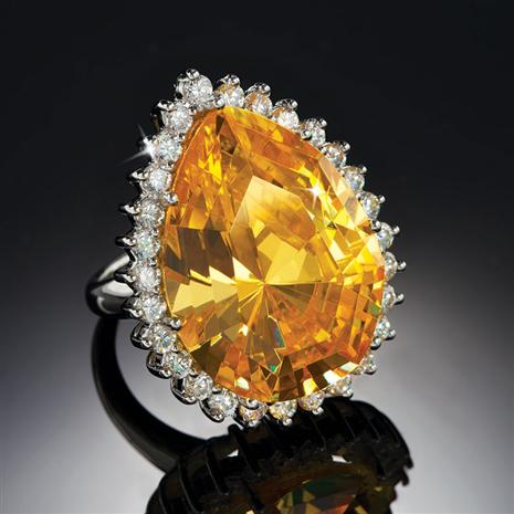 DiamondAura Canary Sol Ring