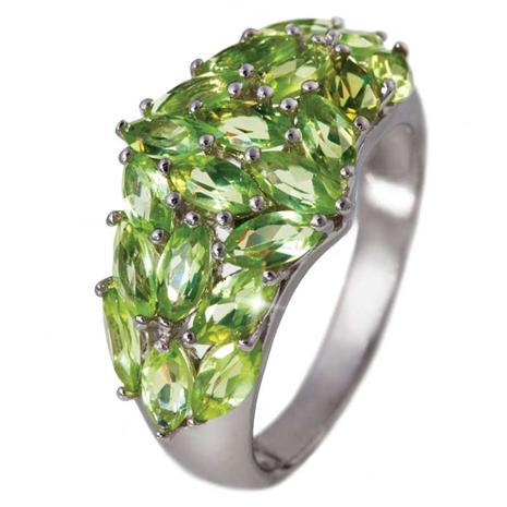 Love At First Sight Peridot Ring