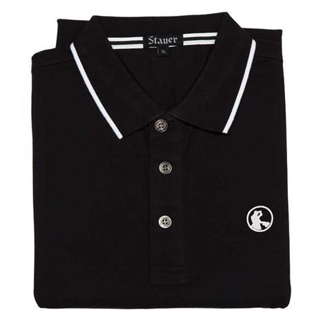 Stauer Luxury Black Polo