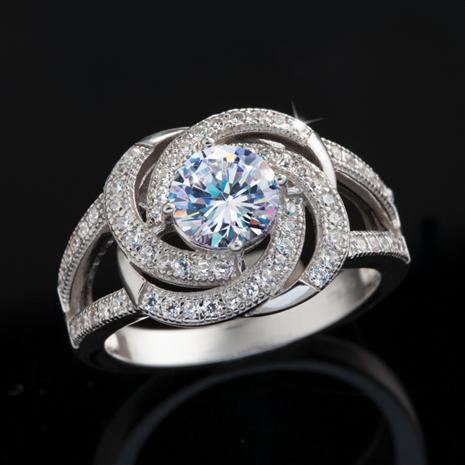 Super Nova Diamond Aura Ring