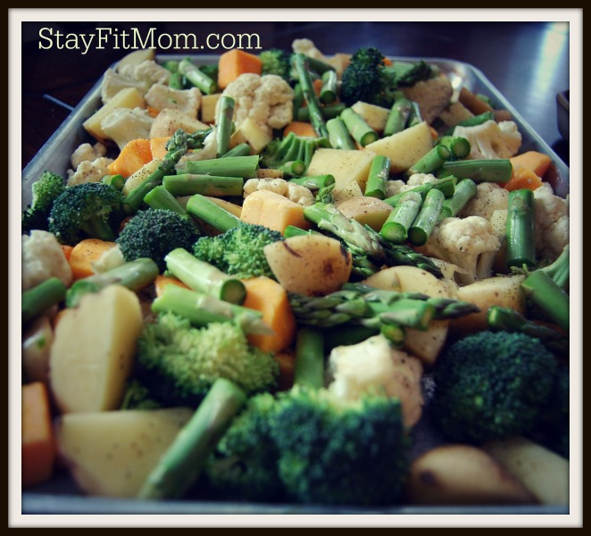 Roasted Vegetable Medley | Stay Fit Mom