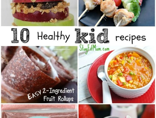 Healthy Kid recipes my kids would love!