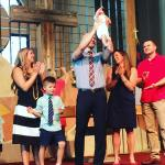 Today Oliver was baptized amp presented Lion King Style tohellip