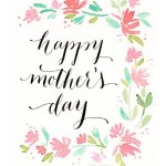 Wishing you all a wonderful Mothers Day! It really ishellip