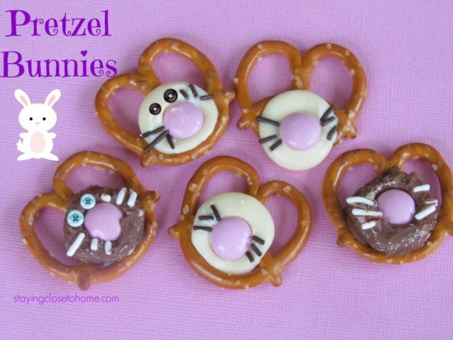 pretzel bunnies  #EatMoreBites  #shop
