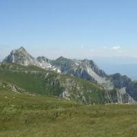 Gradište (2174 m), Vranovac (2215 m) (Sinjajevina, 16 km)