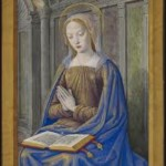 The Virgin Mary by Jean Bourdichon, ca. 1500