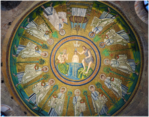 Arian Baptistry - the Dome