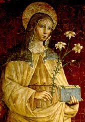 A picture of Saint Clare of Assisi