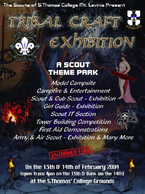 Thomian Scout Exhibition