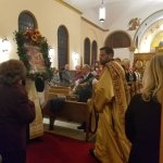 Procession of the St. Demetrios icon.