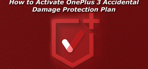 How to Activate OnePlus 3 Accidental Damage Protection Plan