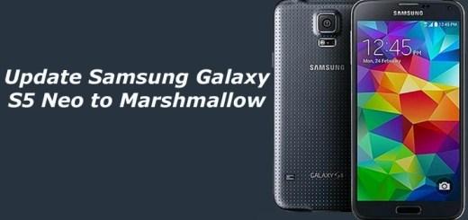 Update Samsung Galaxy S5 Neo to Marshmallow