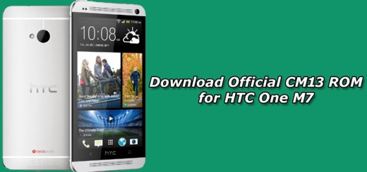Download Official CM13 ROM for HTC One M7