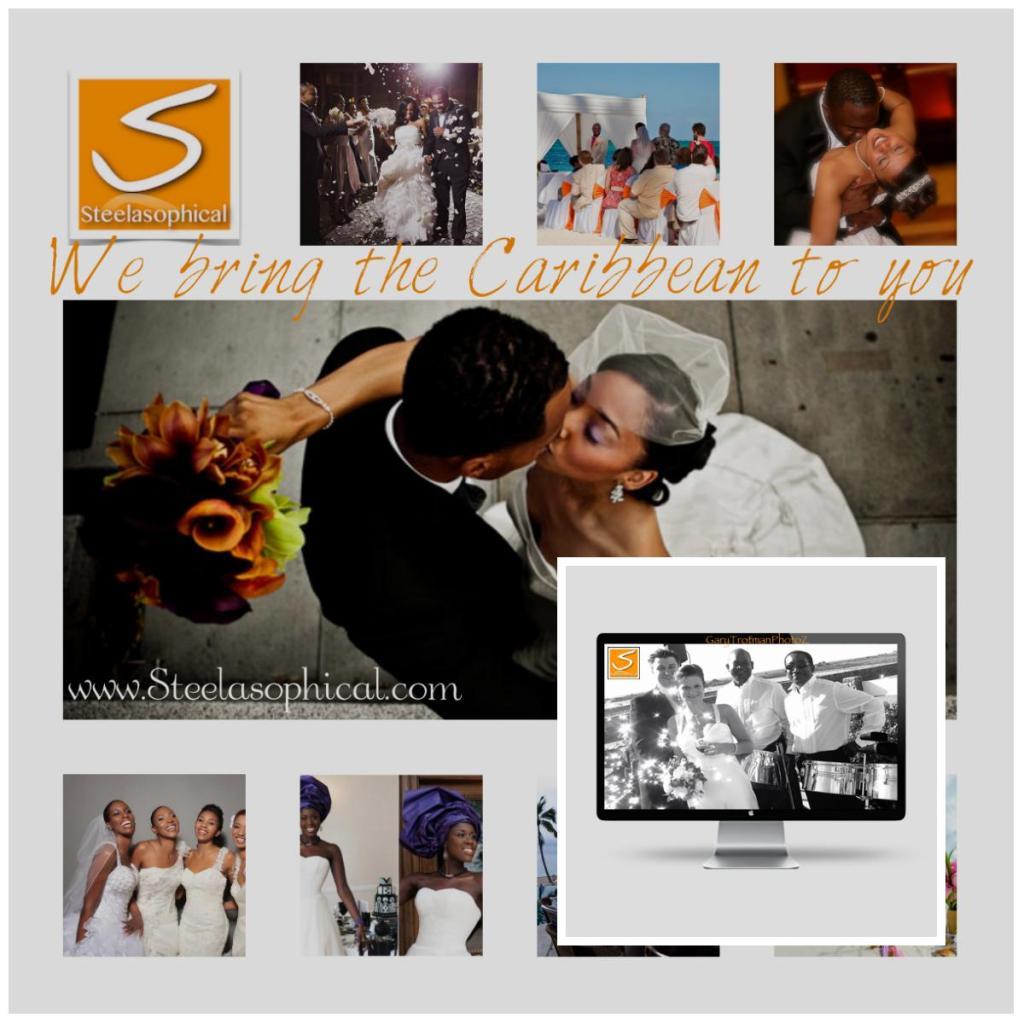 wedding steel band steelasophical groom playings