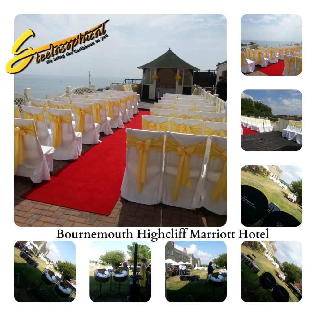 Marriott Highcliff Bournemouth steelasophical steelband